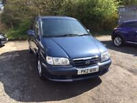Hyundai Trajet Diesel 7 Seater People Carrier with full service history.