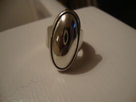 20. Solid Stirling Silver Ring
