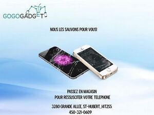 IPHONES REPAIRS ON THE SPOT 450-321-0609 Boutique Gogo Gadget