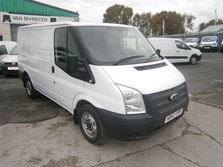 Ford Transit T280 swb Low Roof Van 125ps DIESEL MANUAL WHITE (2014)