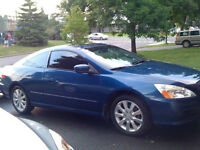 """2006 HONDA ACCORD EX-V6 COUPE - LEATHER - SUNROOF - 17"""" MAGS"""