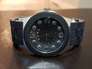 Marc Jacobs Black & Silver Unisex Power Watch
