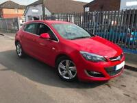 2012 VAUXHALL ASTRA 2.0 SRI CDTI S/S,ROAD TX £30,RED,MANUAL,DIESEL,CRUISE CNTRL