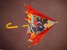 Toddlers fireman sam umbrella