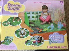 Dream town play garden set