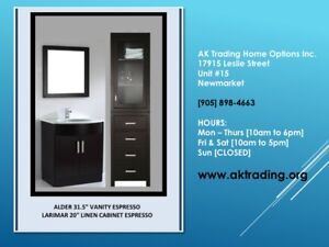 STAND ALONE TOWEL & LINEN CABINET