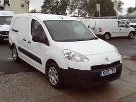 Peugeot Partner 716 S 1.6HDI 92ps Crew DIESEL MANUAL WHITE (2013)