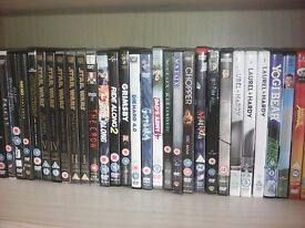 150 dvds and including sets