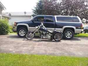 "Custom chopper with 80"" shovelhead(1340 cc)"