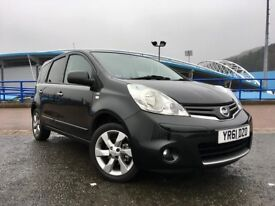NISSAN NOTE 1.4 N-TEC 5DR - GREAT SPEC - SAT NAV BLUETOOTH ETC. 12 MONTH WARRANTY & ROADSIDE ASSIST