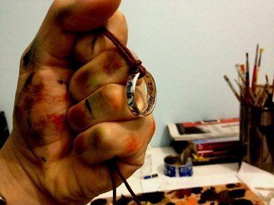 UNCHARTED Nathan Drake Ring made sterling silver 925- artisan product segunda mano  Embacar hacia Argentina