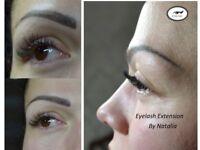 Eyelash Extensions PROFESIONAL and QUALITATIVE Natasha 07902304430
