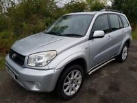 Toyota Rav 4 VVTi **4x4**Leather**LONG MOT**Serviced & New Brakes**Excellent Example**
