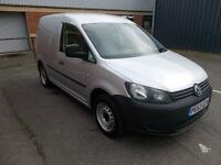 Volkswagen Caddy 1.6 Tdi 102Ps Startline Van DIESEL MANUAL SILVER (2013)