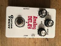 Guitar Tech Analogue Delay Pedal