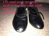 used dance shoes and used boots