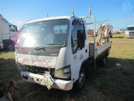 2006 ISUZU NPR 200 WRECKING NOW