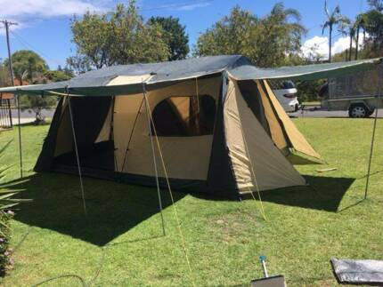Trek 10 man tent & For Sale Coleman Instant Up Tent 8p | Camping u0026 Hiking | Gumtree ...