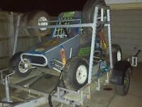 Off road buggy and trailer