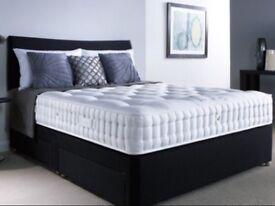 BEST DEAL black double bed complete set 🌟