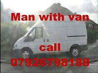 Man with a van removals