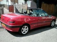 Spares or repair Peugeot 306 convertible with MOT