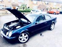 OFFERS REMAPPED V8 4.3 CLK430 MERCEDES AUTOMATIC CAR FOR SALE NOT C63 AMG BMW M3 AUDI V6 VR6 VW