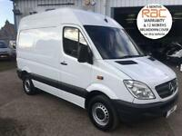 2012 MERCEDES-BENZ SPRINTER CDI SWB MED ROOF 3.5TON IDEAL CAMPER DAY VAN RARE