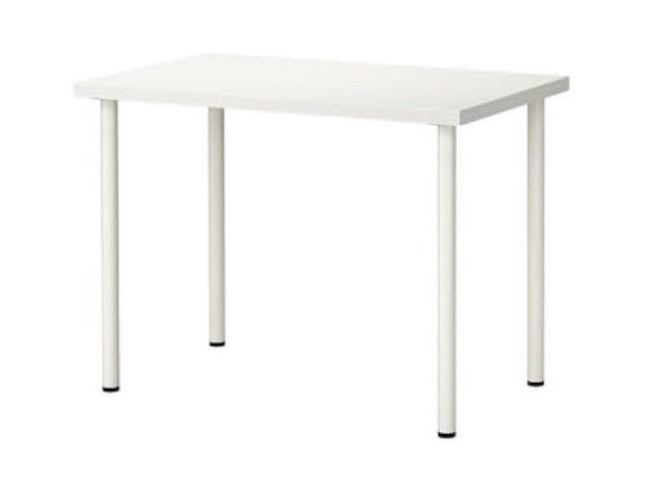 Ikea linnmon white study desk good condition 1 month used only