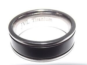 new mens jvl jewelry pledge titanium 7mm wedding band ring