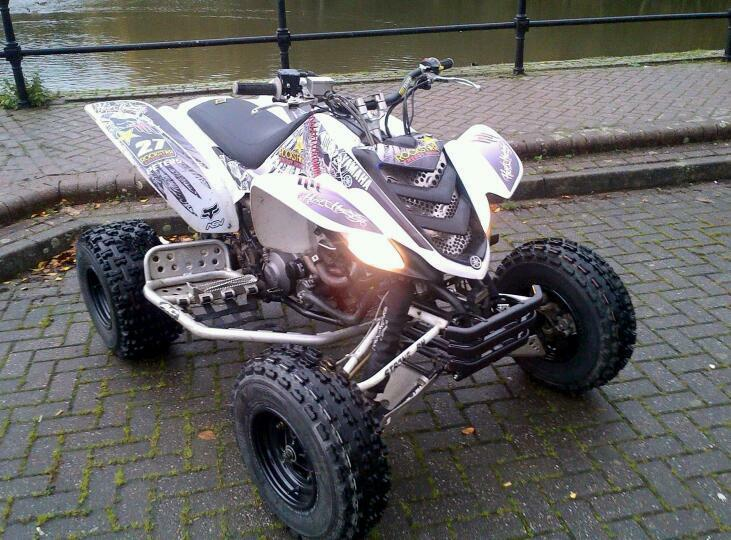 Yamaha raptor 660 2007 road legal in telford shropshire for Yamaha raptor oil type