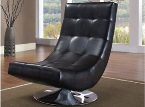 LORD SELKIRK FURNITURE - ELECTRA CHAIR - BLACK OR WHITE