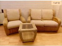 Bargain Conservatory Sofa Set 2+1