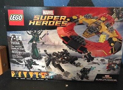 LEGO Marvel Super Heroes The Ultimate Battle for Asgard 2017 (76084)