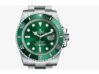 Rolex watch wanted, anything considered, NO FAKE RUBBISH WANTED