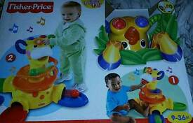 Brand new in box Fisher price giraffe play and stand