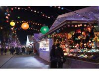 Sales demonstrator needed for the Edinburgh Christmas market.