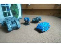 Warhammer 40,000 Space Marine Vehicles