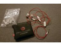 BEATS By dr dre in ear headphones new