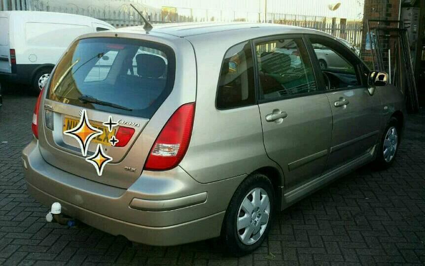 Suzuki Liana GLX one owner