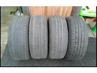 Run Flat Tyres 225/50 R17