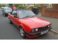 BMW 318 e30 convertible