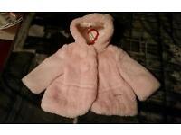 mayoral fluffy coat 6months