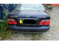 BREAKING WHOLE CAR Mercedes CLK230 Kompressor 1999 Elegance