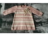 knitted Spanish dress 3months