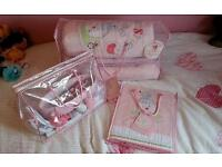 Cot bed set