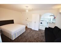 Studio with private parking in Quiet Cul De Sac Chiswick (available September)