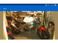 Kawasaki f2 zx6r stunt bike streetfighter project