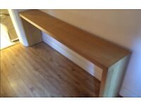 IKEA Birch Over-the-Bed Table / hi-fi table / radiator table / long table / console table