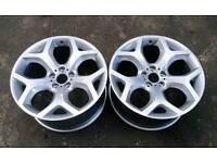 Genuine bmw x5/x6 FRONT alloys 10j